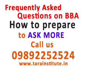 Frequently Asked Questions on BBA