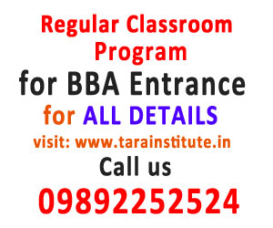 Regular Classroom Program for BBA Exams