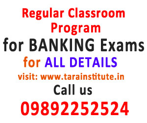 Regular Classroom Program for Banking Exams