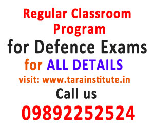Regular Classroom Program for Defence Exams