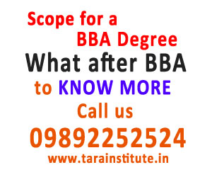 What is the scope for a BBA Degree