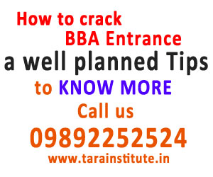How to crack BBA Entrance Exam